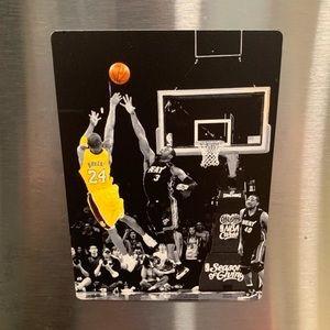 🏀💜💛 Kobe Game Winner Fridge Magnet
